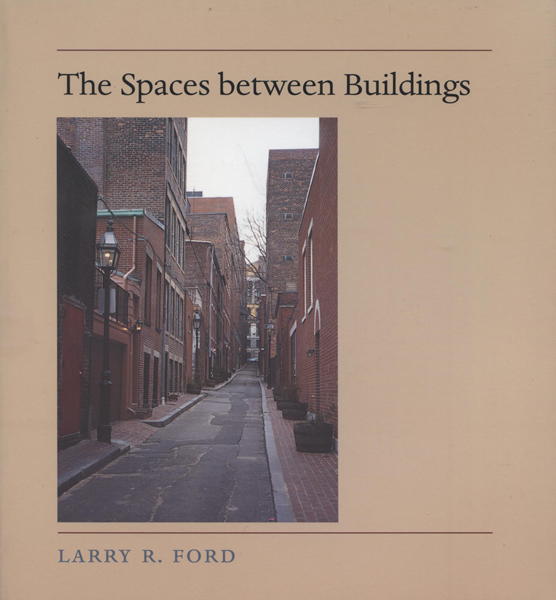 The spaces between building