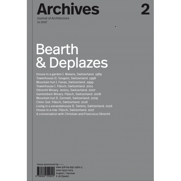 ARCHIVES, 2 Bearth & Deplazes