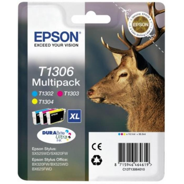 Multipack Epson 'T1306 XL'