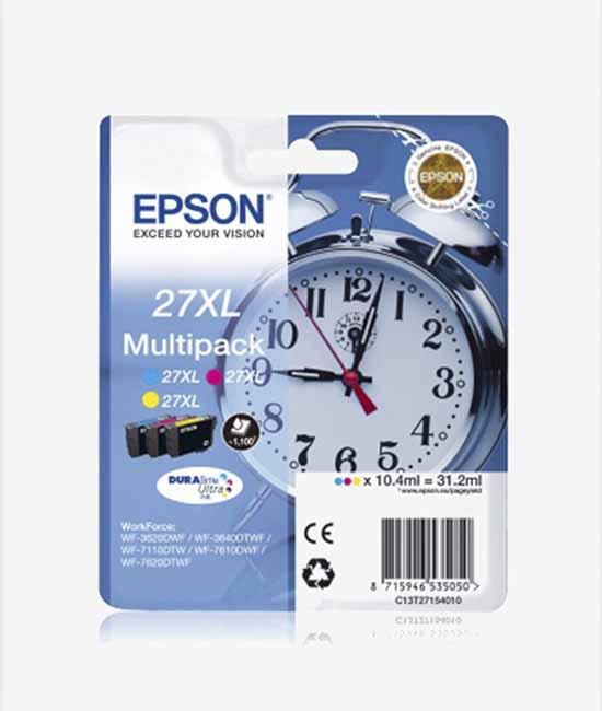 Multipack Epson 27XL