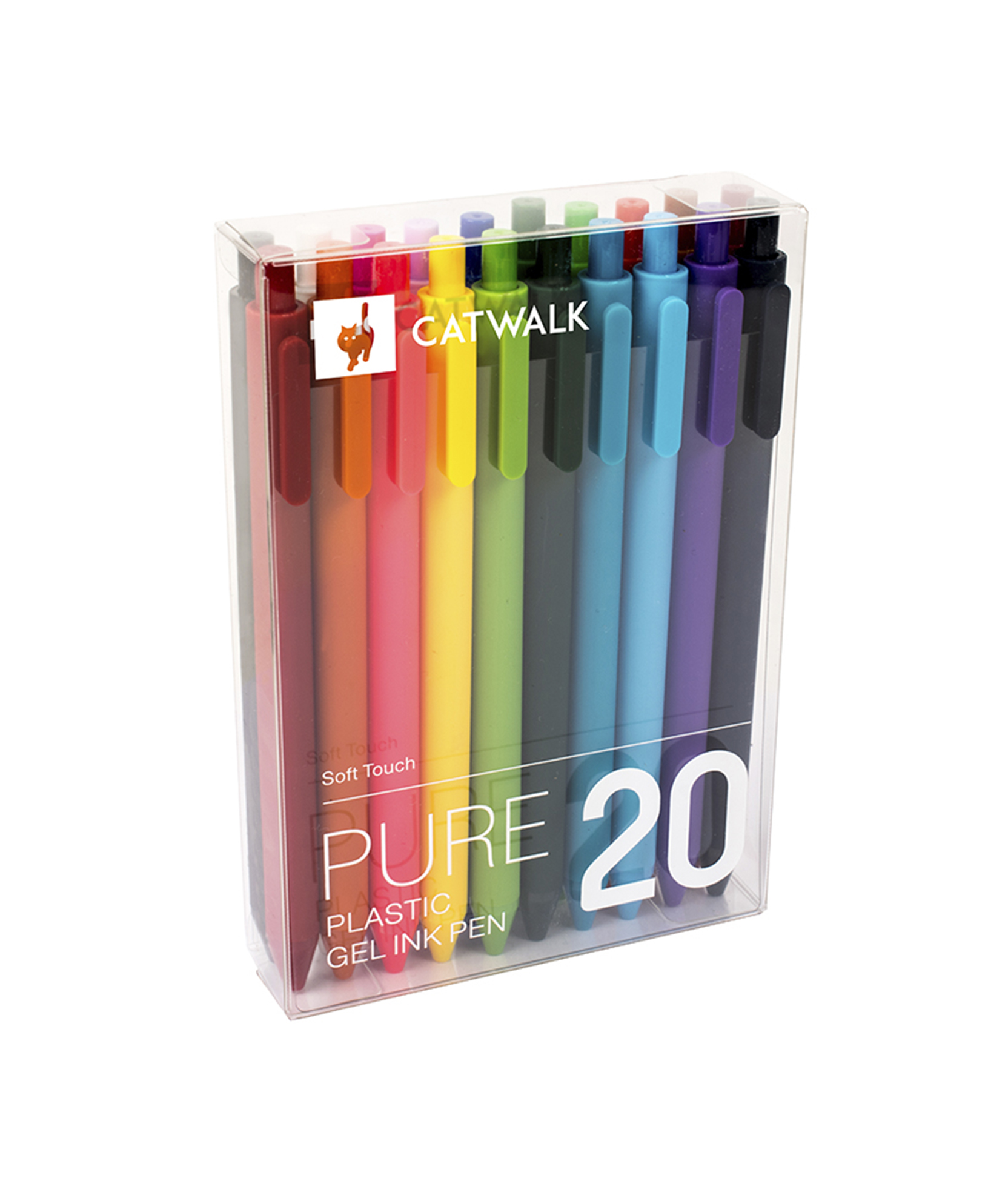 PURE PEN GEL INK 20 UNIT.