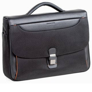 Cartera Business '2910'. Color negre