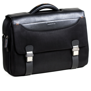 Cartera Business '2912'. Color negre